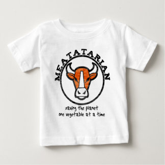 Meatatarian Saving The Planet Baby T-Shirt
