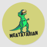 Meatatarian Stickers