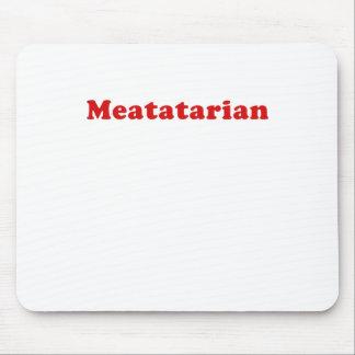 Meatatarian Alfombrilla De Ratón