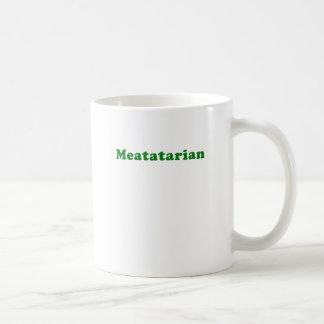 Meatatarian Taza Clásica