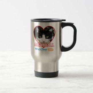 Meatball - 15oz Stainless Steel Travel Mug