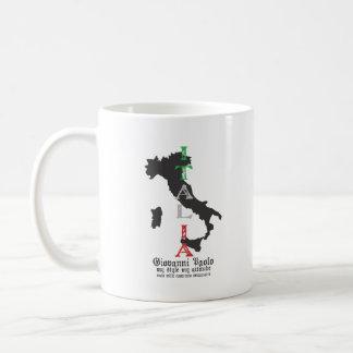 meatball - giovanni paolo - white coffee mug