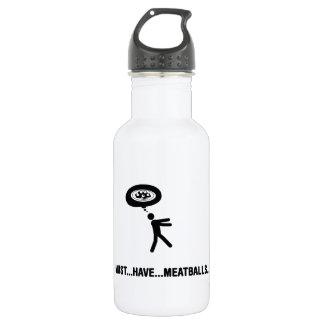 Meatball Lover Stainless Steel Water Bottle