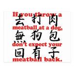 Meatball Postcard