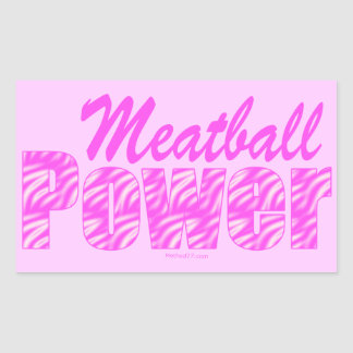 Meatball Power Stickers