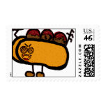 meatball sub postage stamp