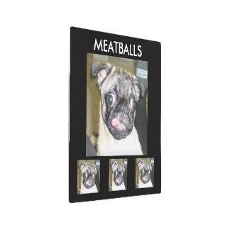 """MEATBALLS 12"""" x 12"""" METAL ART"""