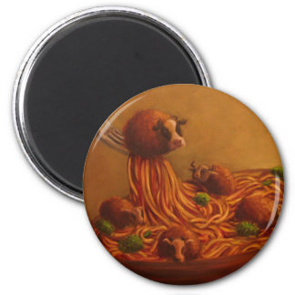 Meatballs 2 Inch Round Magnet