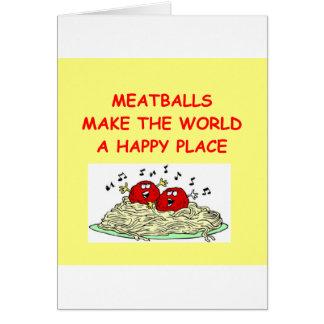 meatballs card