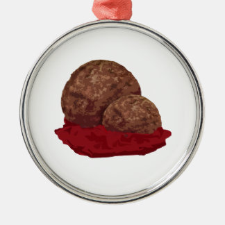 Meatballs in Sauce Christmas Ornament