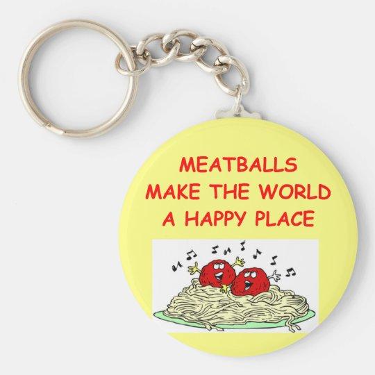 meatballs keychain