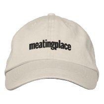 Meatingplace baseball cap (black logo)