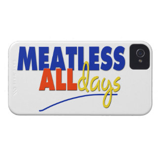Meatless All Days iPhone 4 Cases