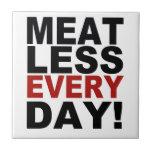 Meatless cada día azulejos ceramicos