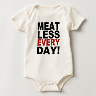 Meatless Every Day Baby Bodysuit