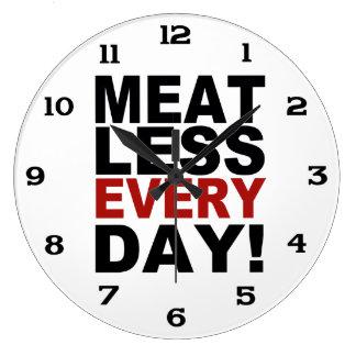 Meatless Every Day Wallclocks