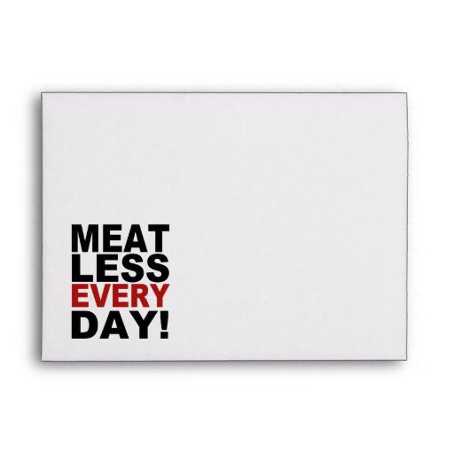 Meatless Every Day Envelope