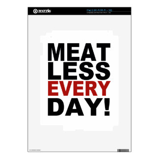 Meatless Every Day Decals For iPad 2