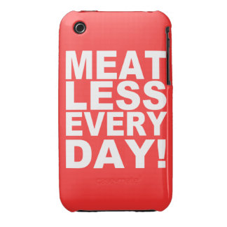 Meatless Everyday iPhone 3 Cases
