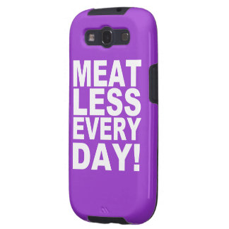 Meatless Everyday Galaxy SIII Cases