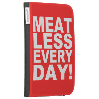 Meatless Everyday Kindle 3 Case