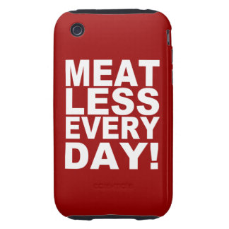 Meatless Everyday iPhone 3 Tough Case