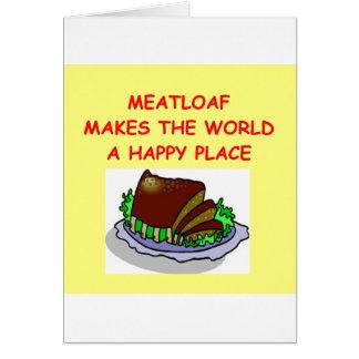 meatloaf card