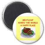 meatloaf fridge magnet