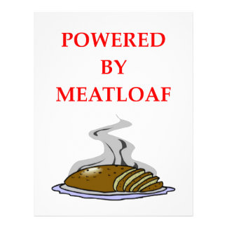 MEATLOAF LETTERHEAD