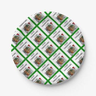 MEATLOAF PAPER PLATE