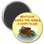 meatloaf refrigerator magnet