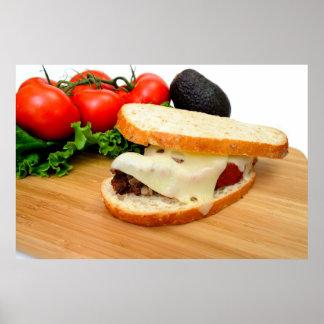 Meatloaf Sandwich Poster