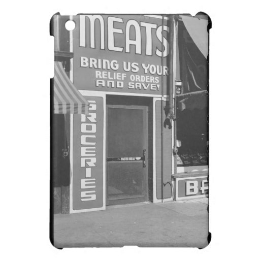 Meats & Groceries iPad Mini Cases