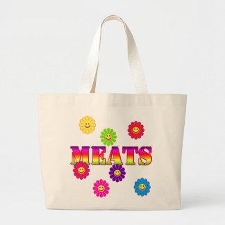 MEATS GROCERY TOTE TOTE BAG