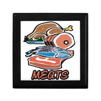 Meats Keepsake Box