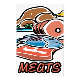 Meats Stationery