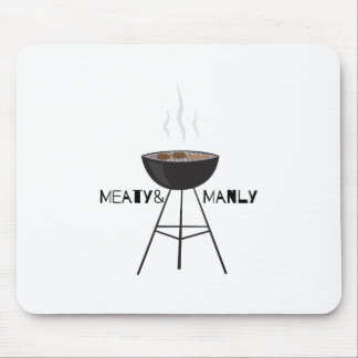 Meaty & Manly Mouse Pad