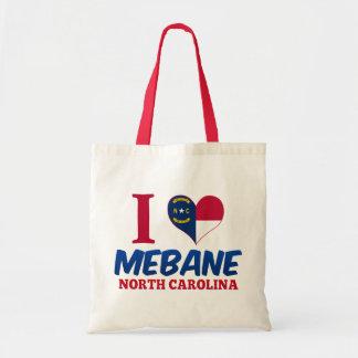 Mebane, North Carolina Canvas Bag