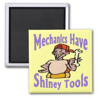 Mecahnics  Have Shiney Tools Magnet