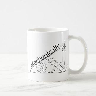 Mecánicamente inclinado taza de café