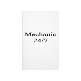 Mecánico 24/7 cuaderno grapado