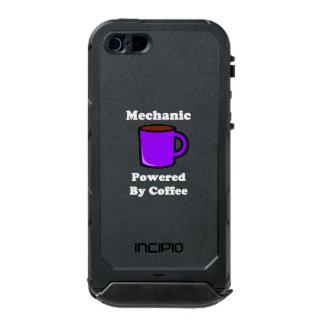 """""""Mecánico"""" accionado por el café Carcasa De Iphone 5 Incipio Atlas Id"""