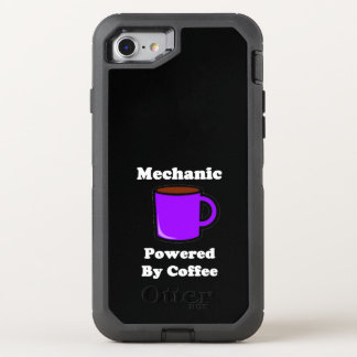 """""""Mecánico"""" accionado por el café Funda OtterBox Defender Para iPhone 7"""
