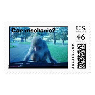 ¿Mecánico de coche?
