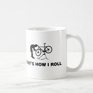 Mecánico de la bicicleta taza