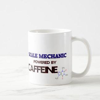 Mecánico de la escala accionado por el cafeína tazas de café