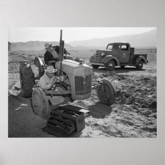 Mecánico de Manzanar, los años 40 Poster