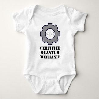 mecánico de quántum, principio de incertidumbre body para bebé