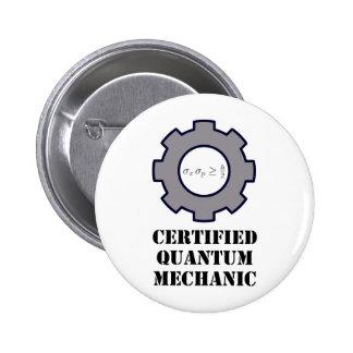 mecánico de quántum, principio de incertidumbre pin redondo 5 cm