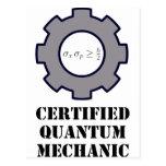 mecánico de quántum, principio de incertidumbre postal